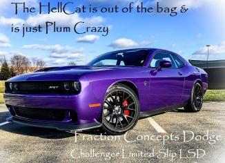 plum crazy hellcat limited slip