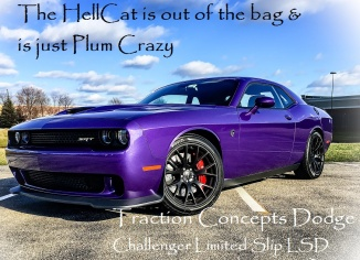 plum crazy hellcat limited slip