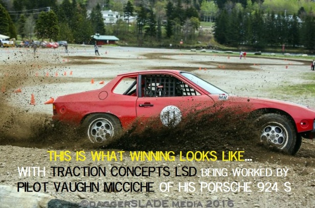 Vaughn Porsche 924 S with Traction Concepts Limited Slip LSD